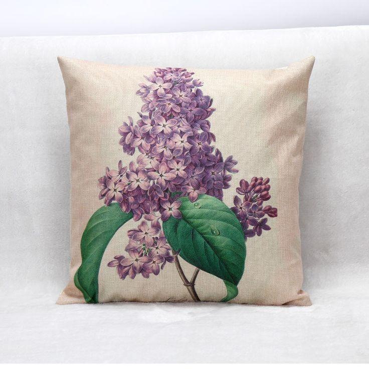 Black Tree Tropical Cushion Cover