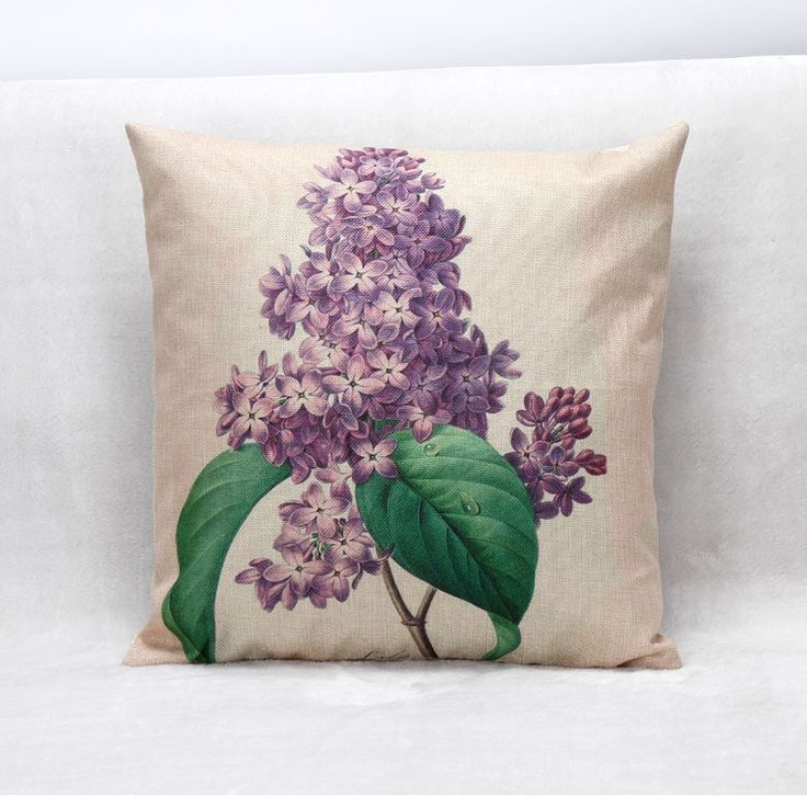 Black Tree Tropical Cushion Cover