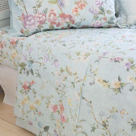 linge de lit imprim floral linge de lit linge et zara. Black Bedroom Furniture Sets. Home Design Ideas