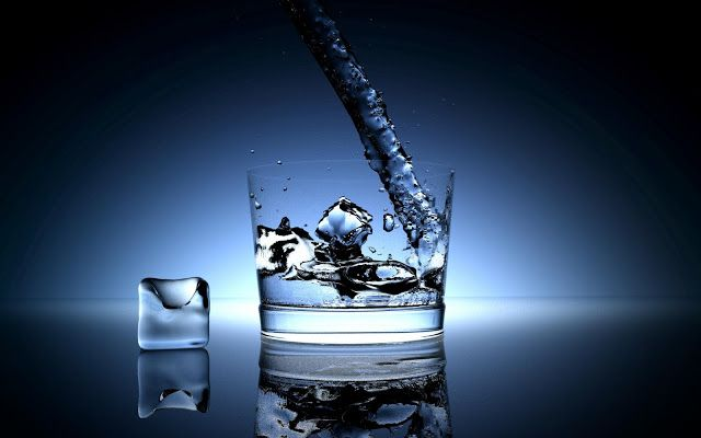 Happiness is Like a Glass of Water