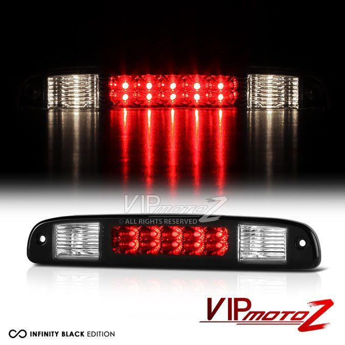 97-04 Dodge Dakota  RT SLT SXT Black LED Third Brake Roof Stop Cargo Light Lamp #VIPMOTOZ