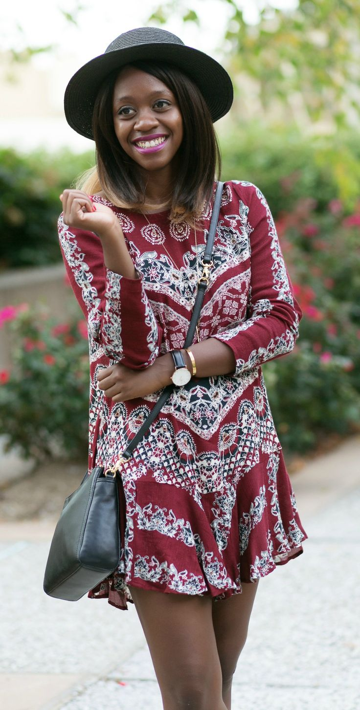 fall festival outfit ideas -- love the back of this dress!