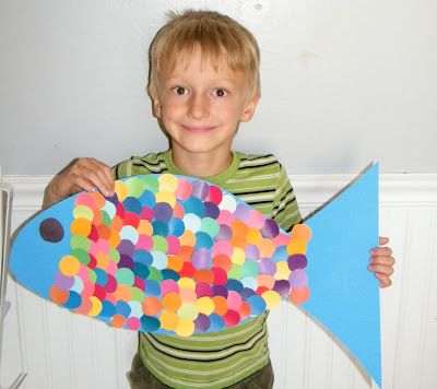 rainbow fish I like thAt this could be a small group activity