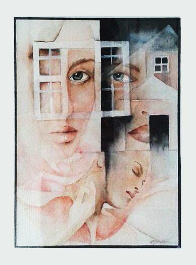 """""""blank look"""" art by erjamuru"""