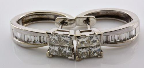 FABULOUS-EARRING-PRINCESS-DIAMOND-CUT-SOLID-WHITE-GOLD-14K