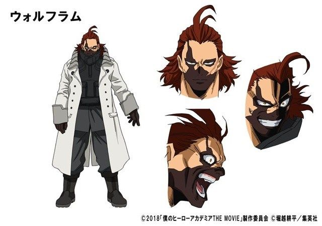 My Hero Academia Two Heroes Releases New Trailer Anime Manga Villain Character My Hero Academia Hero