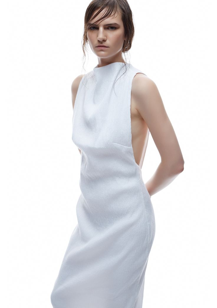 THIRD FORM SPRING 15 | MAIKO DRESS #thirdform #fashion #streetstyle #style #minimalism #trend #model #black&white