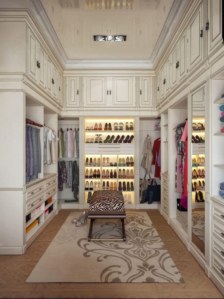 14 Walk In Closet Designs For Luxury
