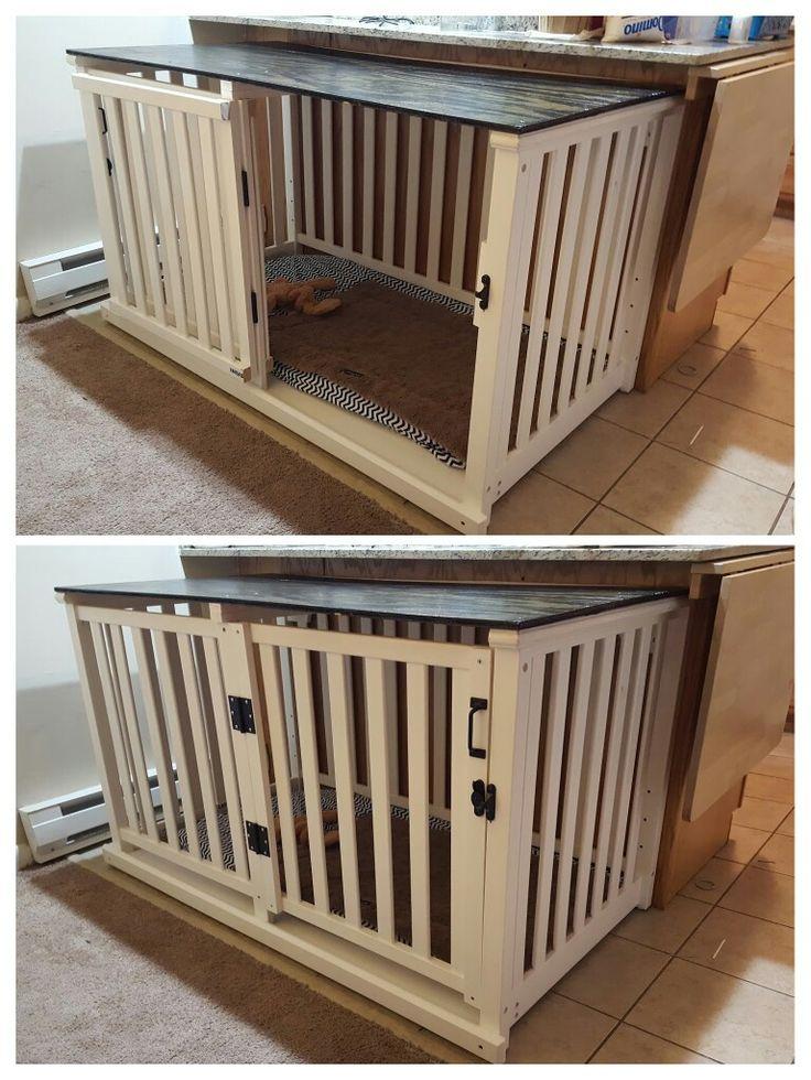 Best 25 Diy dog crate ideas on Pinterest  Dog crate Diy