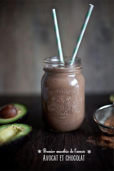 Smoothie à l'Avocat & au Chocolat