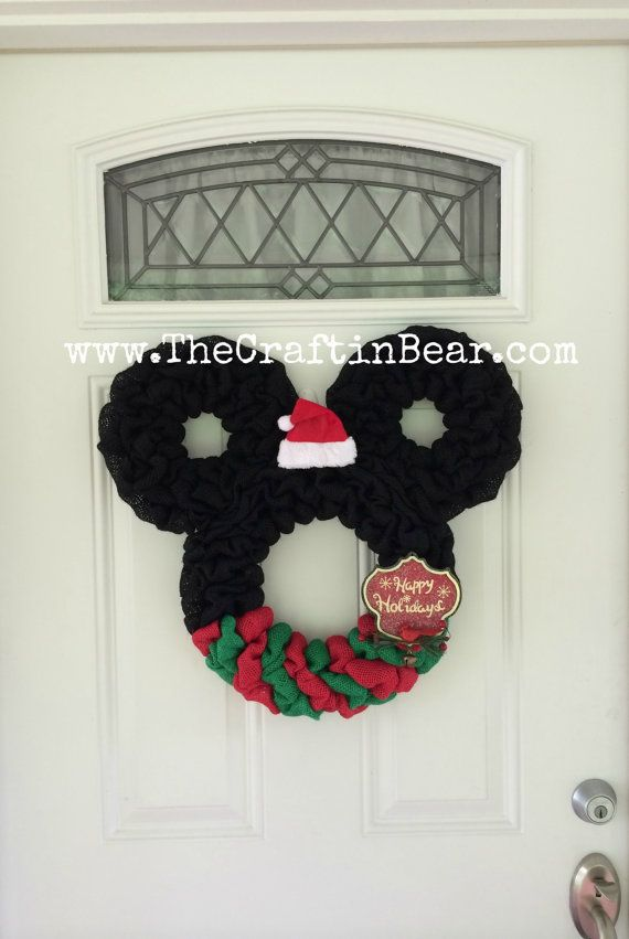 best 25  mickey mouse wreath ideas on pinterest