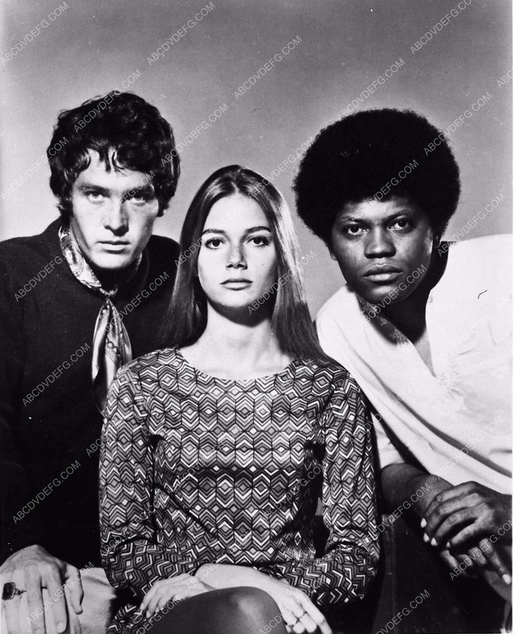 photo Michael Cole Peggy Lipton Clarence Williams III TV The Mod Squad 2191-34