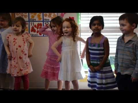 Mother's Day songs at preschool