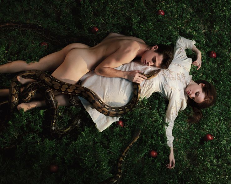 https://flic.kr/p/r4JLwT | The fall of man. | Models: Andrew Callahan & Christine Osterhoudt Snakes provided by Serpentine_King.  Facebook page | Twitter | Instagram