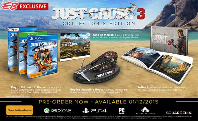Just Cause 3 Collector's Edition - EB Games Australia