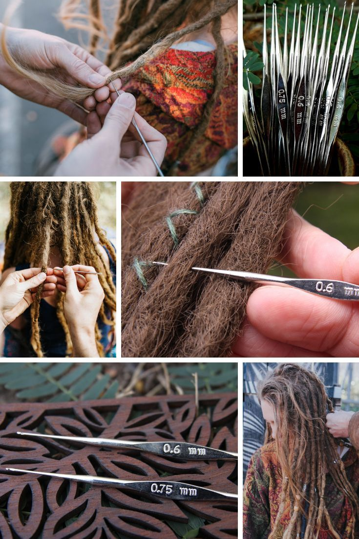 0.6 mm dreadlock crochet hook High quality BEST LOC TOOL dread maintenance