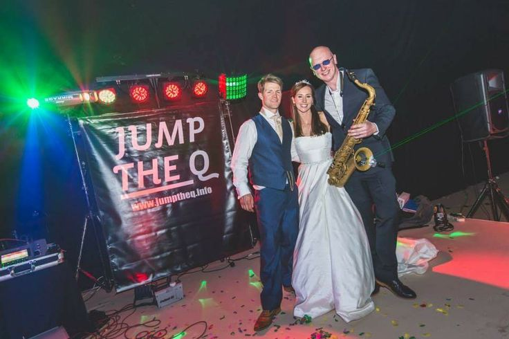 Annie & Phil Cowan with Steve Bone. Live music for weddings in the North East & North Yorkshire by Jump The Q. www.jumptheq.info