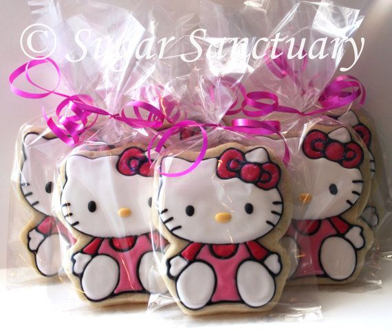 Hello Kitty favors. @Mikell Sloan Lee do you think your new lady can do these?