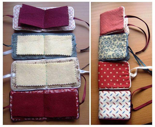 Proyectos sencillos de costura. Alfileteros, cajitas, bolsitas, portadedal...