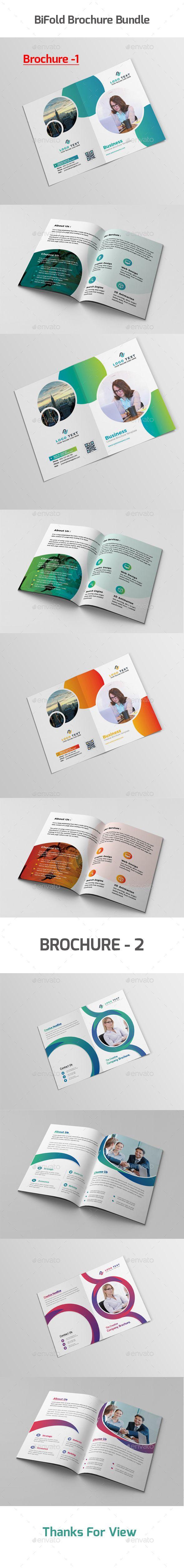 Bifold Brochure Bundle - Corporate Brochures