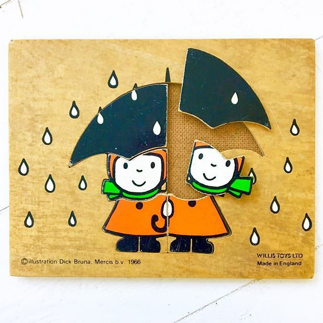 Calling all Dick Bruna fans! Now listed in my Etsy shop - very rare Dick Bruna wooden children's puzzle dating from 1966 - from my collection as I'm becoming more of a minimalist. Will be listing more of my collections over the next coming weeks. @janefosterdesigns #janefostercollection #dickbruna #vintagepuzzle #raredickbruna #miffy #vintagemiffy #60spuzzle #60skids #retrohome #retrokids #lessismore #intentionallife