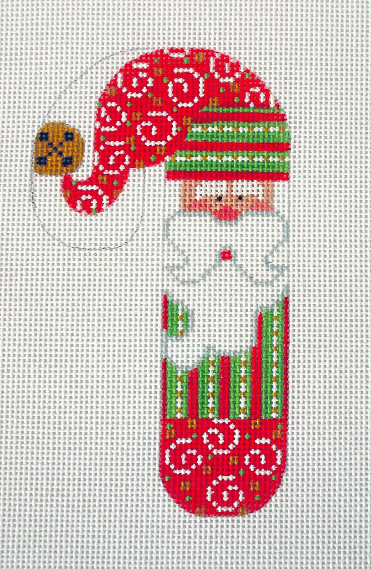 21 Best Counted Cross Stitch Candy Cane Images On