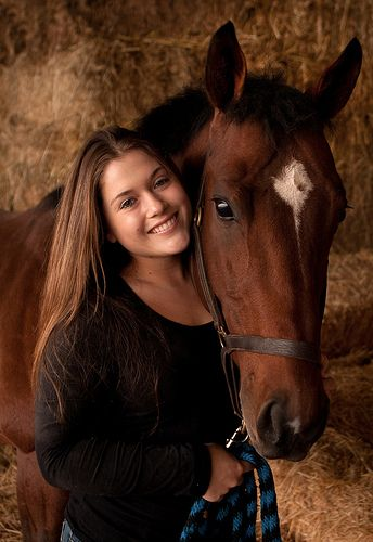 I would LOVE to take photos of a girl with her horse someday. <3