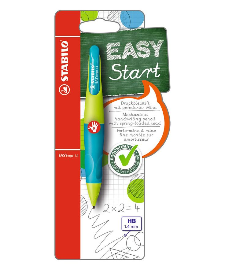 STABILO Green & Aqua Easy Start Right-Handed Mechanical Pencil | zulily
