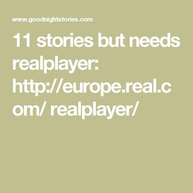 11 stories but needs   realplayer:  http://europe.real.com/  realplayer/