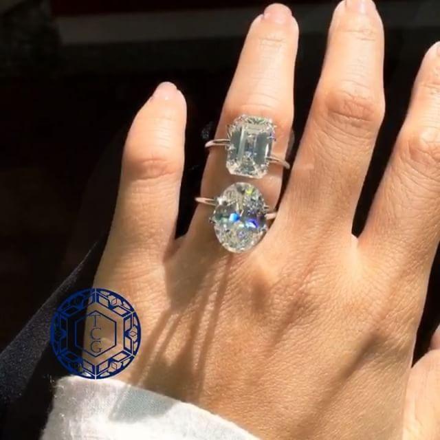 7ct Oval Or 7ct Emerald 7ct Oval Ovalcut Ovaldiamond Luxuryjewelry Luxury Diamonds Celeb Celebjewelry 100 Fine Jewelry Jewelry Luxury Jewelry