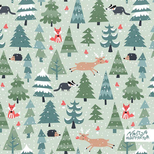 Nastja Holtfreter Illustration, Surface and Pattern Design: 10. Dezember