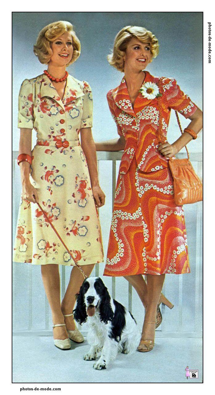 mode 1970 femme. Black Bedroom Furniture Sets. Home Design Ideas