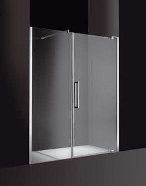 Cesana tecnostar 2 apertura battente nicchia for Porte de douche ronal