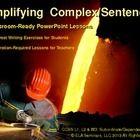 Complex Sentences Simplified PowerPoint (priced item)