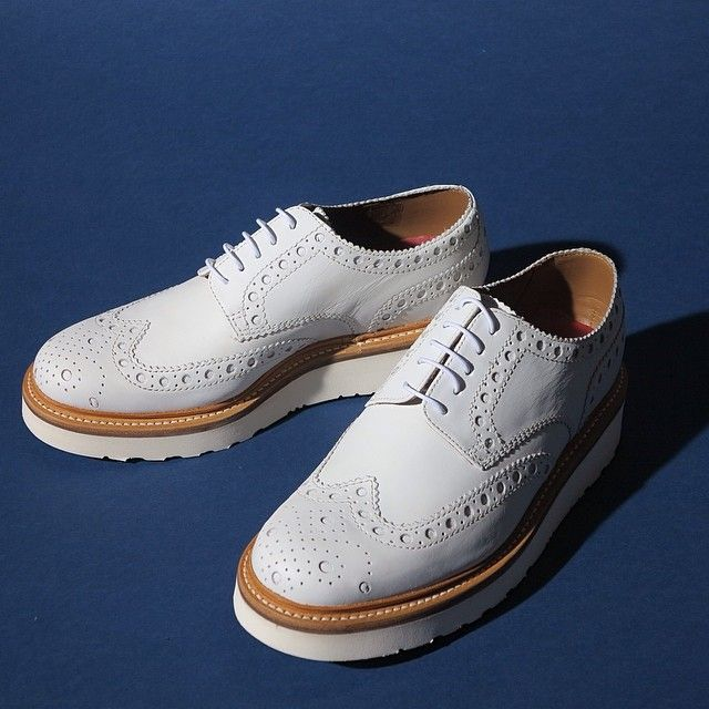 Leather brogues by Grenson MATCHESFASHION.COM #MATCHESFASHION #MATCHESMAN