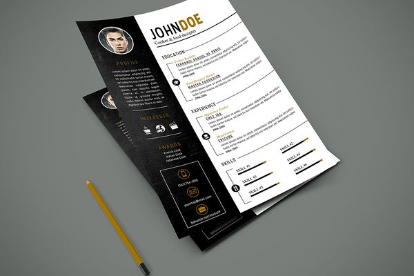 32 best Resume images on Pinterest Resume templates, Curriculum - restaurant resume
