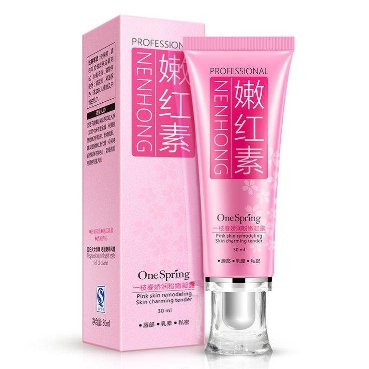 30 ml Hautpflege Körper Whitening Cream Frauen Vaginale Lippen Privaten Teil Rosa Unterarm Intime Whitening Dark Nippel Bleichcreme