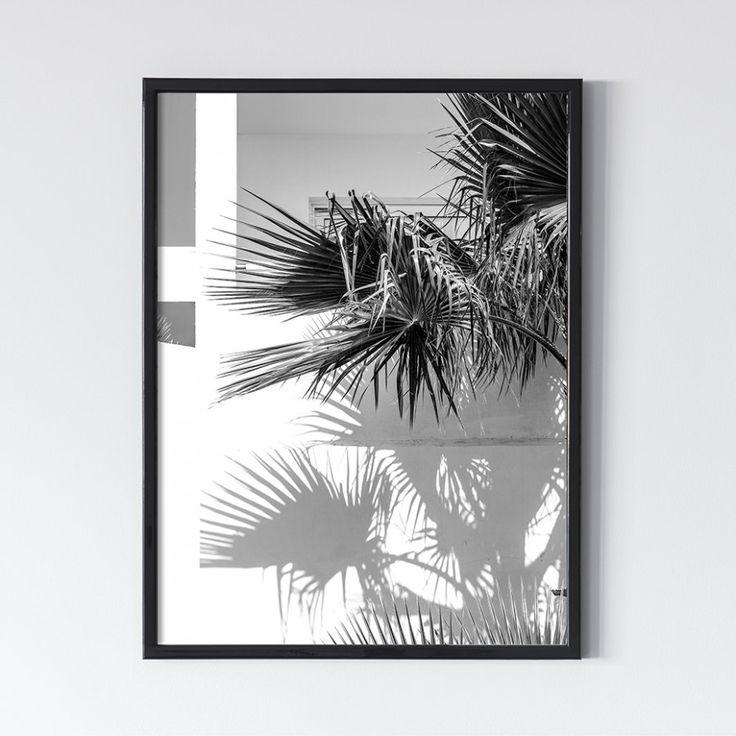 Пальмы. Черное 0.1