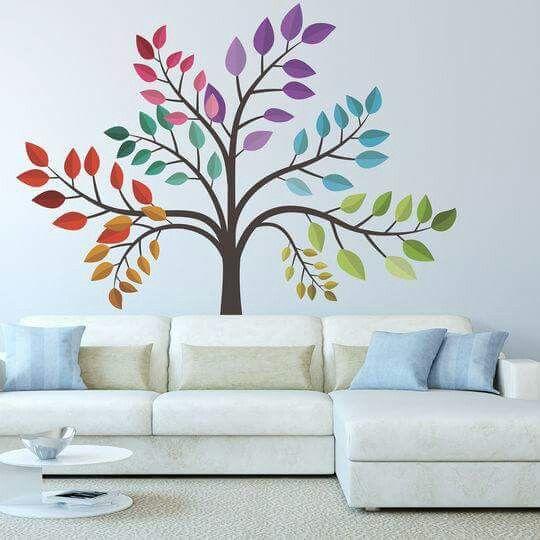 M s de 25 ideas incre bles sobre murales decorativos en - Murales decorativos pared ...