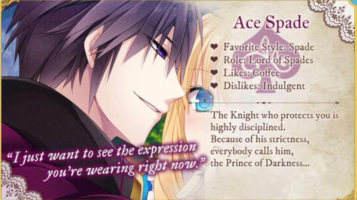 Shall we date? Lost Alice - Ace Spade