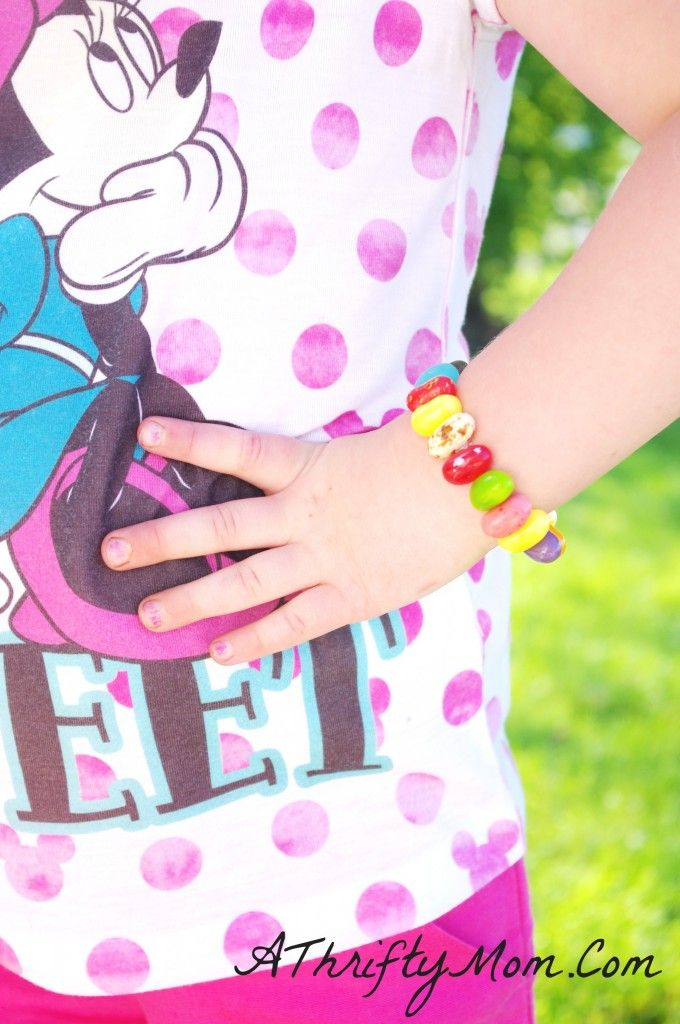 Jelly Bean Bracelet, Edible Crafts, Crafts For Kids: Landons Ideas, Crafts For Kids, Fm Ideas, Kiddo S Bday, Kids Crafts, Parties Ideas, Kid Crafts, Party Ideas