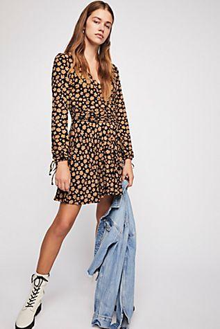 95bd2b6475f2 Pradera Wrap Mini Dress | Gowns/Couture/Inspiration. | Dresses, Wrap ...