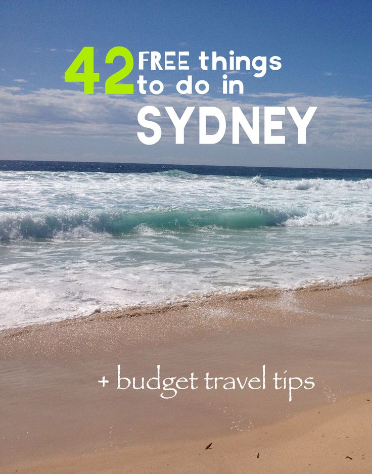 42 Free Things to do in Sydney + budget travel tips || © Joyce Dekkers || Via @vegannomad #sydney #australia