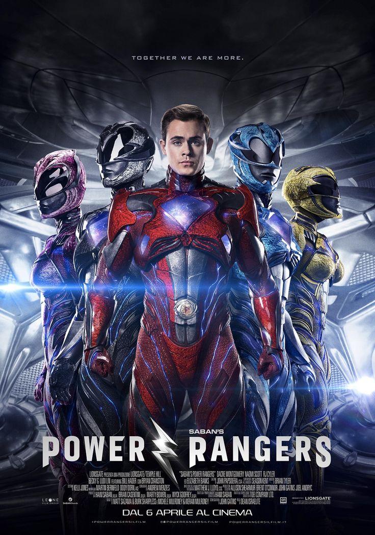 Power Rangers | Poster Italiano