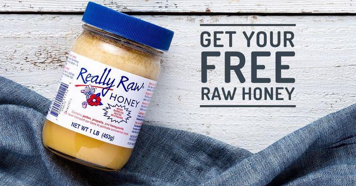 Really Raw Honey for FREE