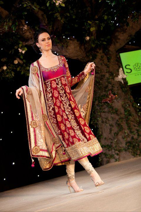 Really nice anarkali. This is totally my style