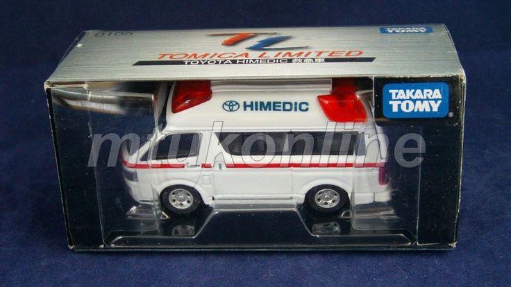 TOMICA LIMITED 2009   TOYOTA HIMEDIC AMBURANCE   1/64   TL-0105