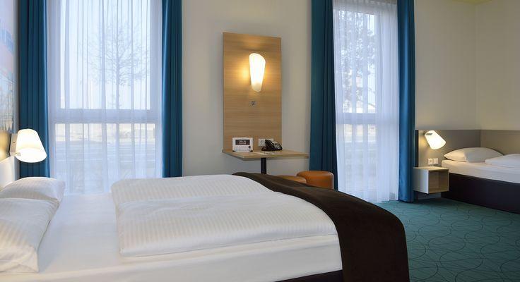 Barrierefreies Zimmer im B&B Hotel Köln-Messe