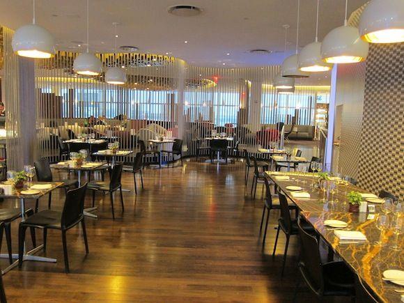 Dining Area at Virgin-Atlantic-Clubhouse-JFK-29