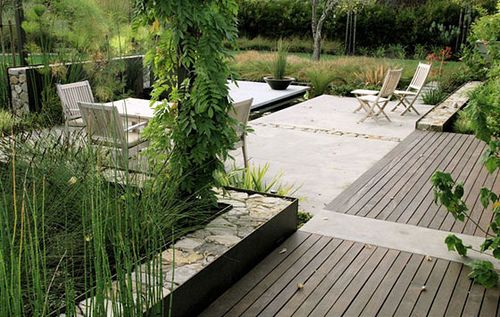 Modern Landscaping - Thuilot Associates by plastolux, via Flickr